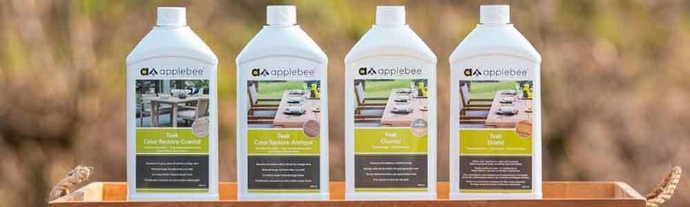 Onderhoud teakhouten tuinmeubelen van Applebee