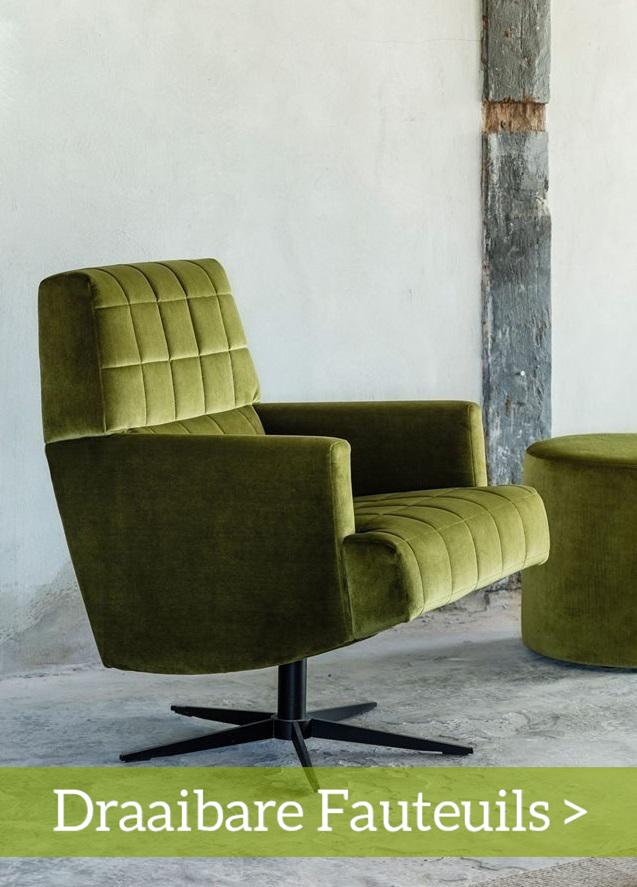 Draaibare Design Fauteuil.Comfortabele Fauteuils Online En In Onze Woonwinkels