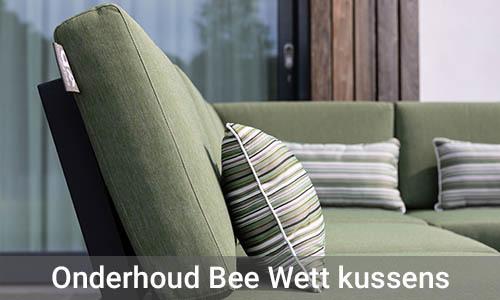 Onderhoud Bee Wett Kussens