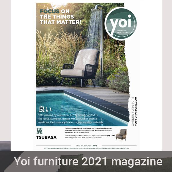 Yoi tuinmeubelen 2021 magazine