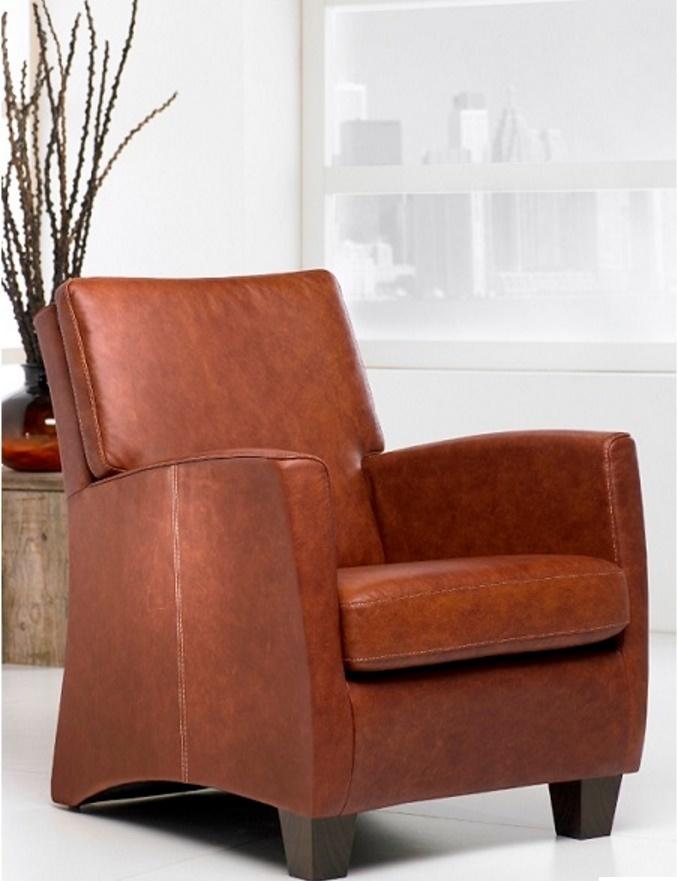 fauteuil-eva-haveco-leer-houtenpoot