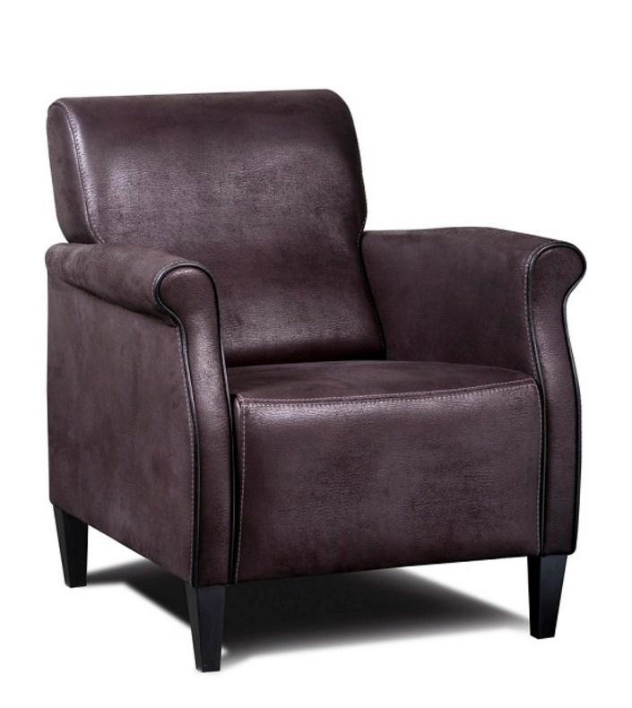 fauteuil-karel-haveco-leder-houtenpoot