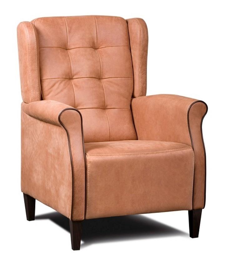 fauteuil-dion-haveco-leder-houtenpoot