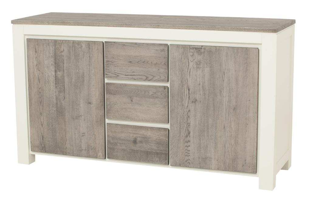 kast-roy-dressoir-towerlving-MC 0016-180cm-vergrijsd eiken-wit-landelijk-deuren-laden