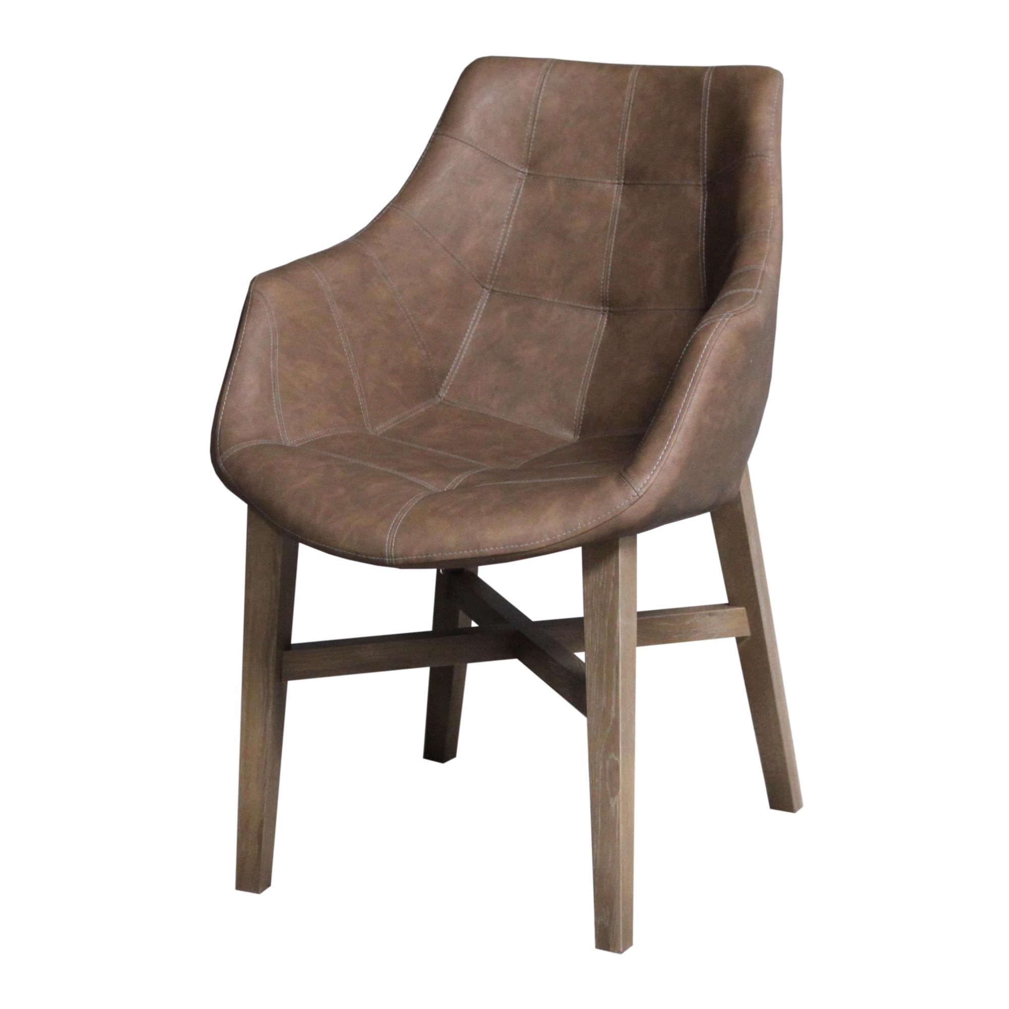 stoel-neba-metarmleuning-vintage-bruin