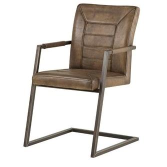 stoel-luuk-towerliving-leder-metalenframe