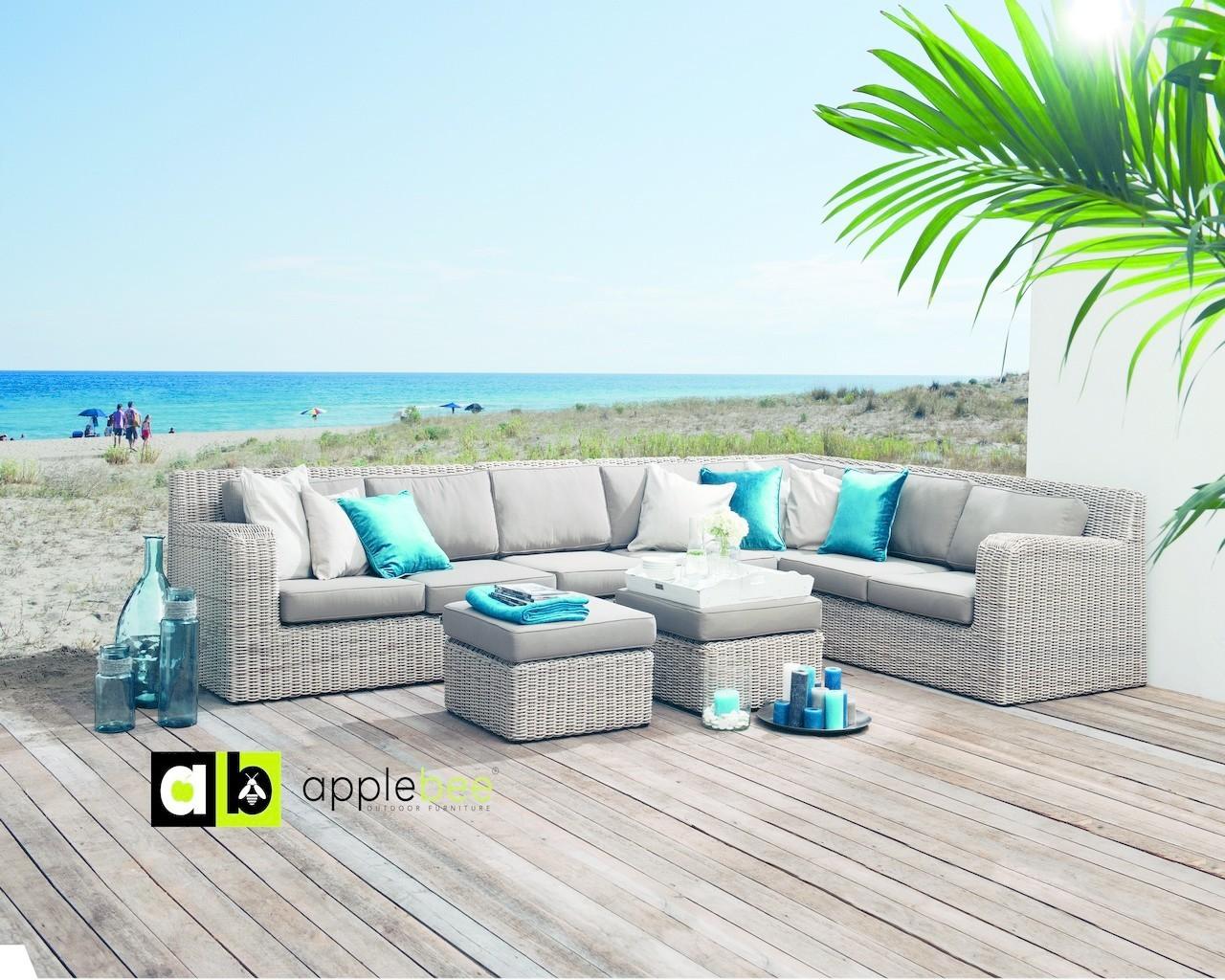 loungeset-horizon-applebee-hoekbank-taupe-elementen-wicker-seashell