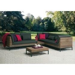 Loungeset-Long Island-Applebee-tuin-sofa-love seat rechts-tussenelement-salontafel-teak-all weather