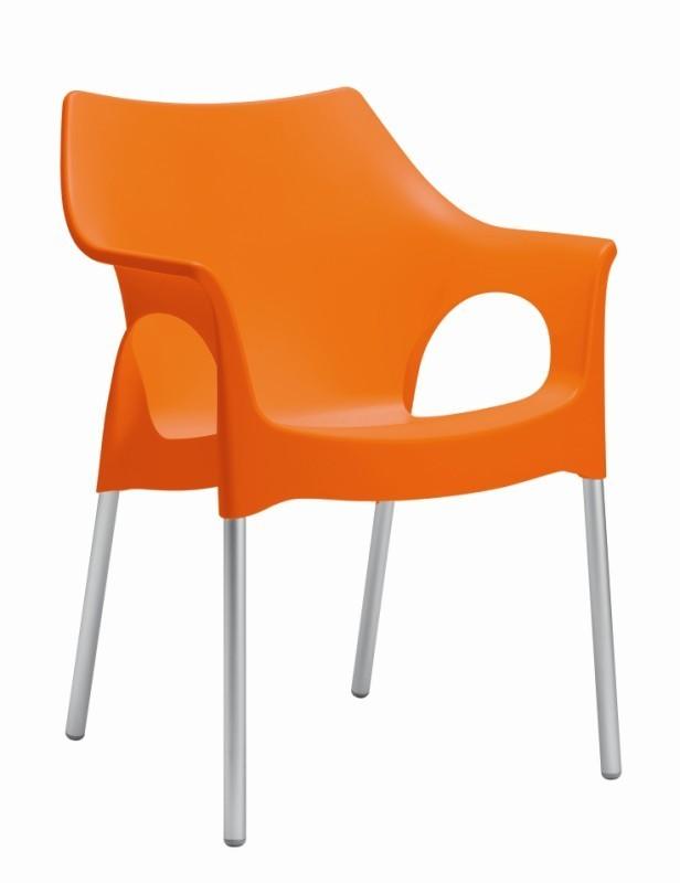 Tuinstoel Ola oranje