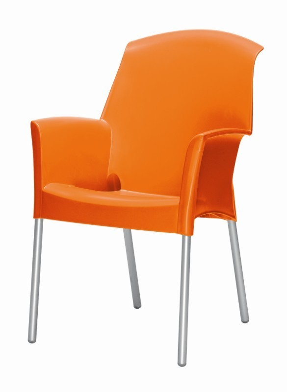 Tuinstoel Super Jenny oranje