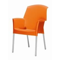 Tuinstoel 4x Super Jenny oranje