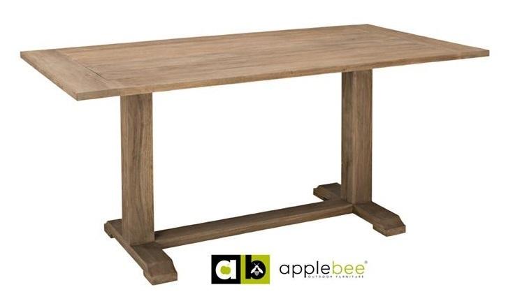 tuintafel-eettafel-tafel-buiten-outdoor-bridge 170-applebee-teak-greywash-rechthoekig-grijs-vergrijsd-geolied-teakhout-teak-hout