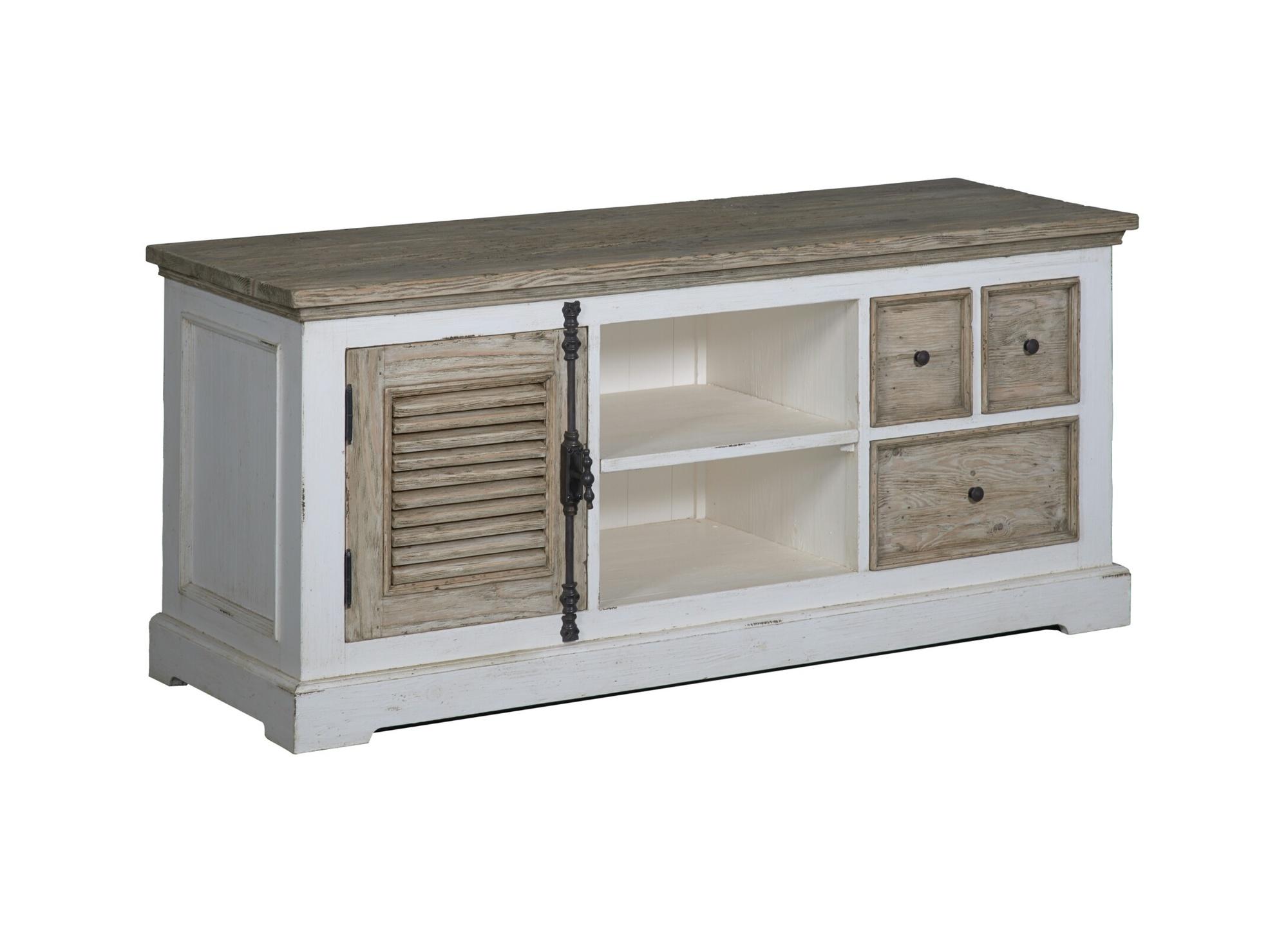 kast-tv dressoir-amanda-towerliving-TD 0017-oudwit-vergrijsd grenen-150cm