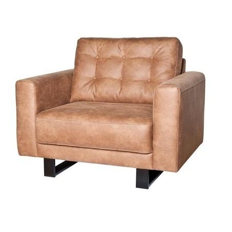 Regina-Sevn-fauteuil-leder-stof-blokpoot-sledepoot-houtenpoot-gecapitonneerd-modern-landelijk-armleuning