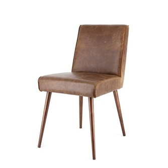 90375-stoel-sascha-eleonora-bruin-houten-poot-cerato-leder