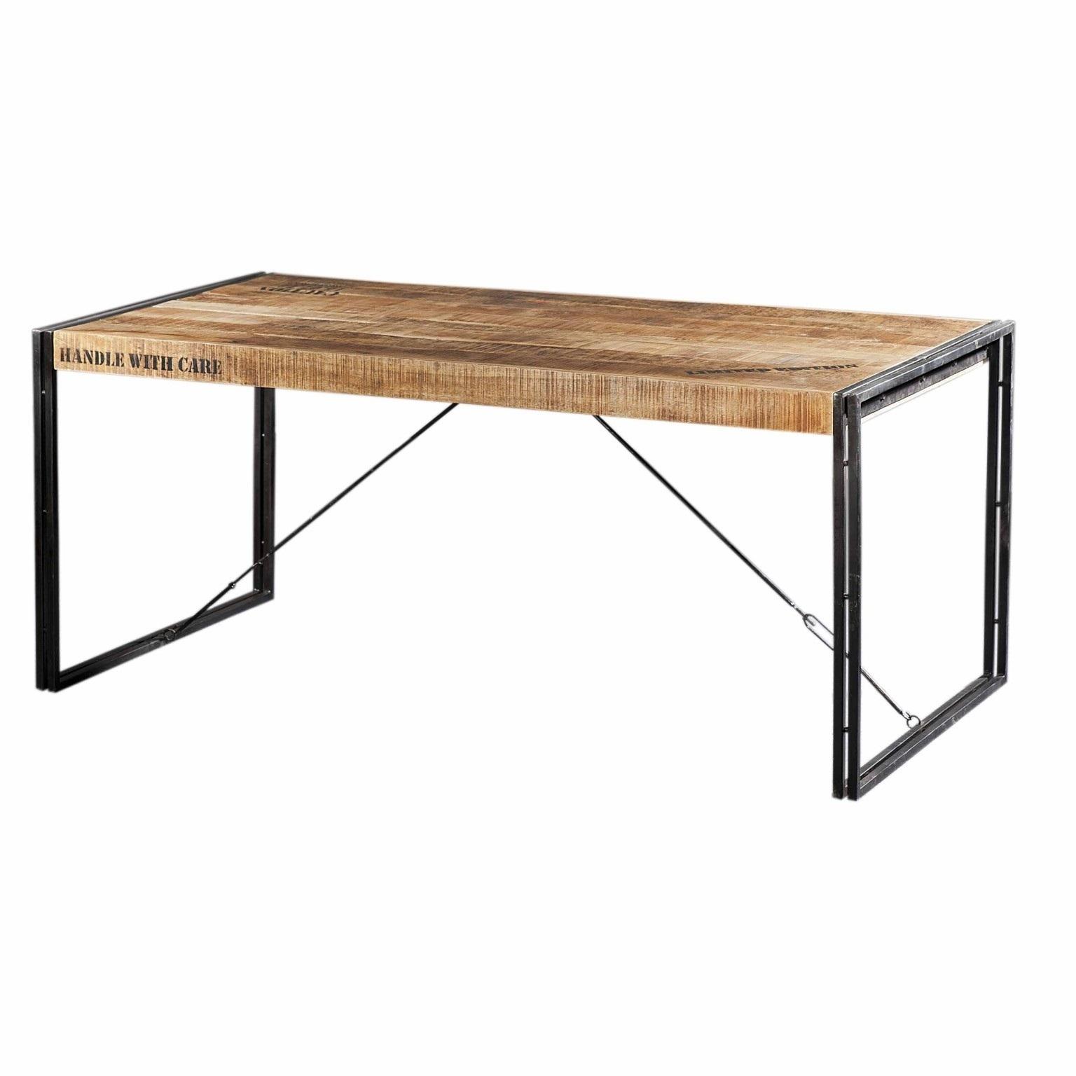 Eettafel Iron 140 cm