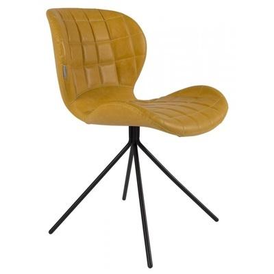 Hippe stoel omg vintage geel van zuiver bekijken - Zwarte eetstoel ...