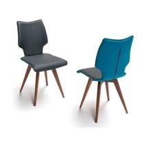 Designstoel Spin F notenhout