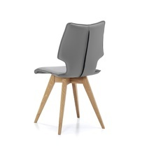 Designstoel Spin F eikenhout