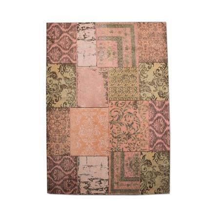 vloerkleed-patchwork-oranje