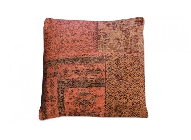 sierkussen-patchwork-oranje