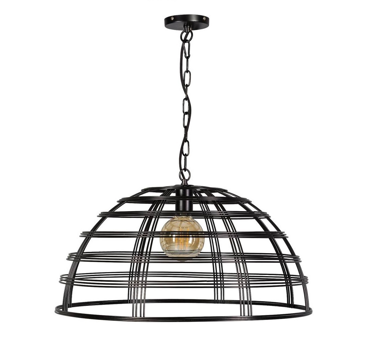 Hanglamp Barletta zwart groot