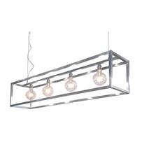 Hanglamp Rimini 4L grijs