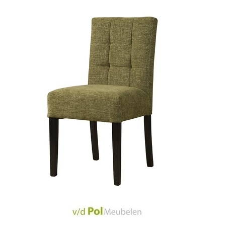 eetkamerstoel-nancy-stoel-eetstoel-groen-bleekgroen-bruin-sepiabruin-loofgroen-tower-living-gecapitonneerd-houten-poot-koloniaal-stof-roble