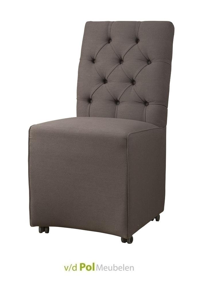 Landelijke stoel brian sepiabruin van tower living kopen for Design eetstoel