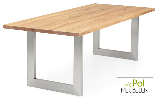 Eettafel rechtblad 140 t/m 300 cm