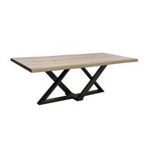 Vermeer Zens designtafel metaal zwart Maatwerk