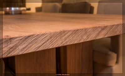 Een eiken tafel op maat samenstellen for Tafel samenstellen
