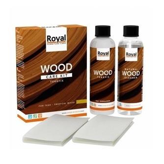 verzorgingsset-onbehandeld-hout-reiniging-verzorging-bescherming-oranje-bv-royal-care-wood-care-kit-teakfix-tropisch-hout