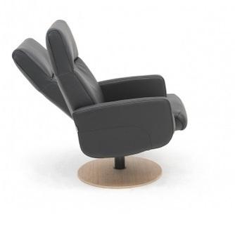 Fauteuil-3288-leder-stof-zwart-diverse-kleuren-draaibaar-verstelbaar-verstelbare-rug-draaiplateau-rond-onderstel-horizontaal-stiksel-hjort-knudsen-utrecht-bilthoven