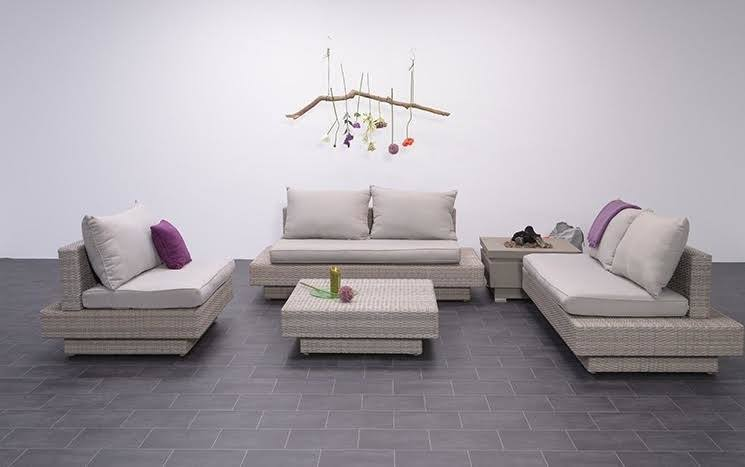 Loungeset Zeist 4-delig shadow grey
