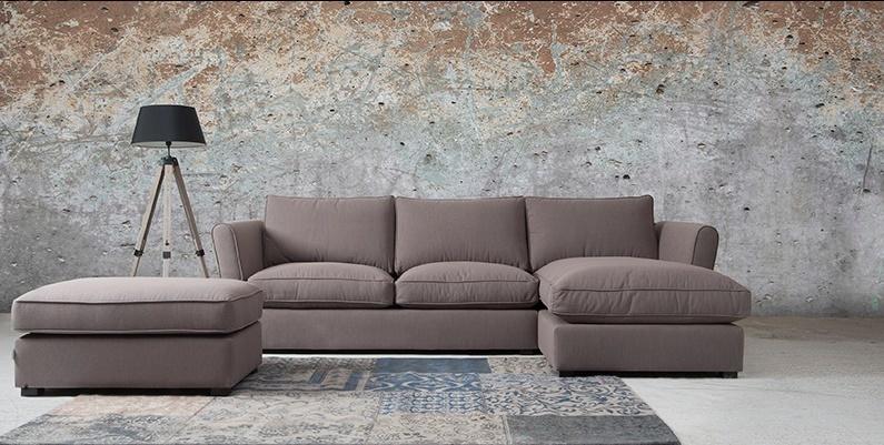 Loungebank Fiore 2 zits + Longchair S