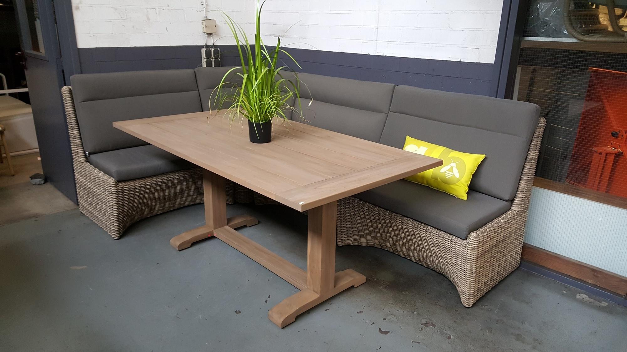 Lounge-diningset Esquina 5-delig Applebee