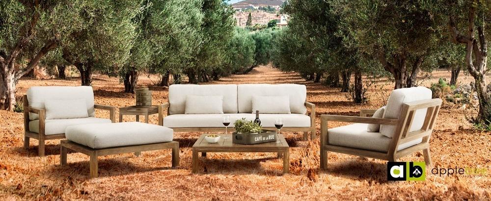 Loungeset Olive Applebee 5-delig