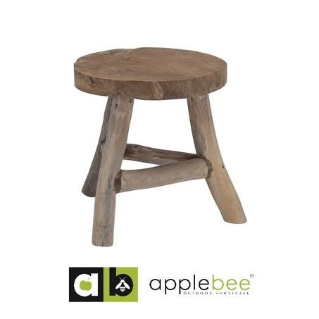 bijzettafel-rooty-Applebee-teakhout-SLVK-kruk-Bilthoven-Utrecht