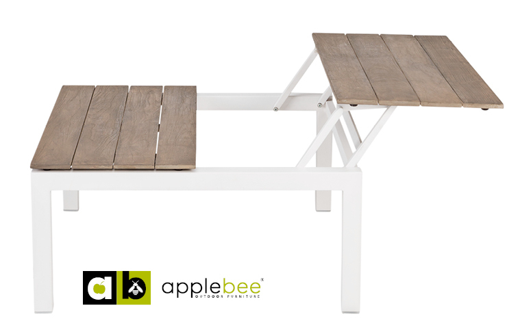 Verstelbare koffietafel Pebble Beach Applebee