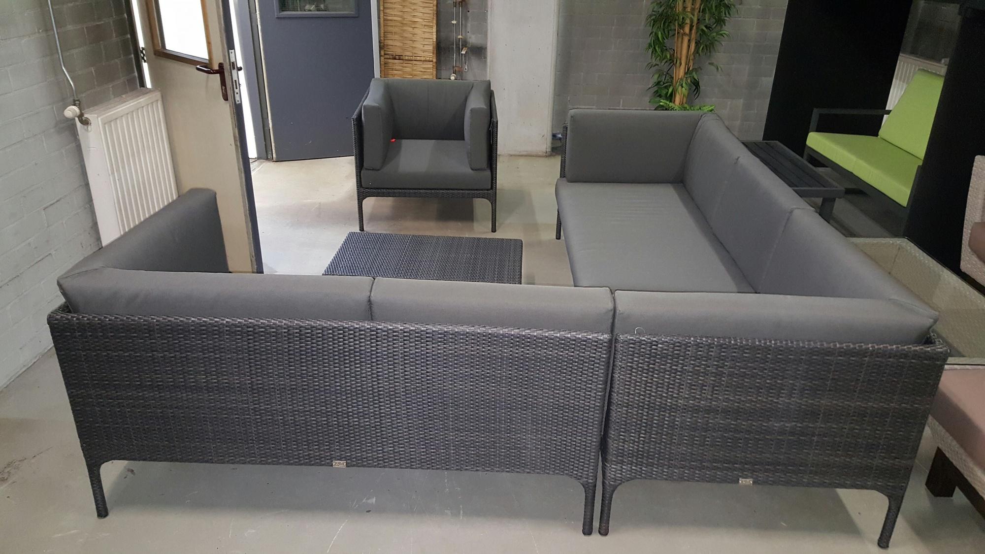 Loungeset Grey hoekset