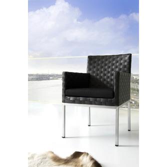 tuinstoel-rhode-island-applebee-dining-chair-outdoor-wicker-vlechtwerk-leatherprint-zwart-beewett-kussens-luxe