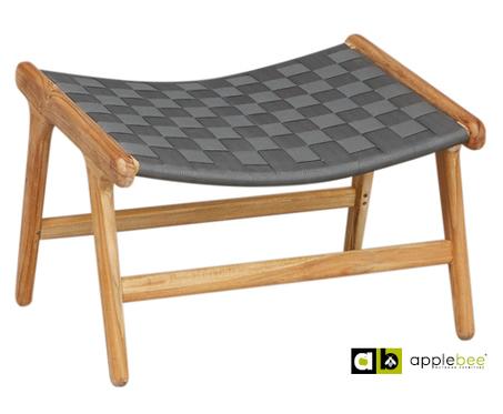 footstool-juul-grijs-applebee-belt-vlechtwerk-brede-band-teakhout-onderstel-voetenbankje-bijzettafel