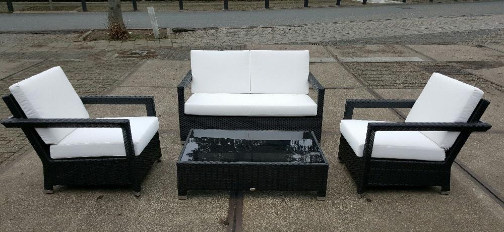 Loungeset Black & White Applebee