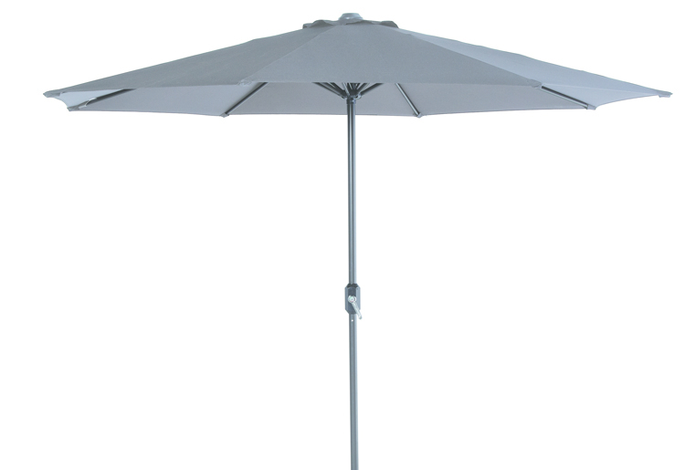 Parasol  Ø 300 cm royal grey/donkergrijs