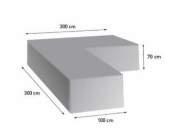 Beschermhoes loungeset 300 x 300 x 70 cm