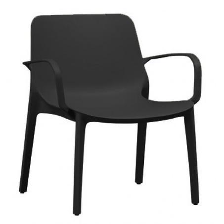 stapelbare-loungestoel-ginevra-zwart-antraciet-kunststof-loungefauteuil-kuipstoel-armleuning-tuinstoel-terras-balkon-horeca