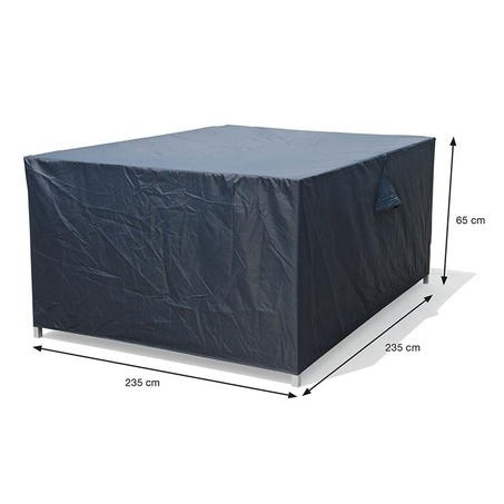 beschermhoes-loungeset-235x235xH65-ribstop-polyester-garden impressions-tuinsets bv-ventilatie