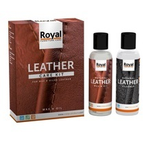 Leather Care Kit wax & oil leather