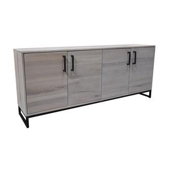 dressoir-evia-4-deurs-BM0187-tower-eiken-hout-metaal-onderstel-zwart-living-white-wash-wit-vier-deurtjes-industrieel
